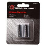 Streamlight 3 Volt Lithium CR123 Battery 2 Pack