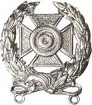 No-Shine Badge Expert Badge Army Insignia