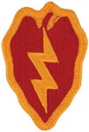 25th Infantry Division Full Color Patch Army Patch