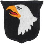 101st Airborne Division Full Color Patch Army Patch