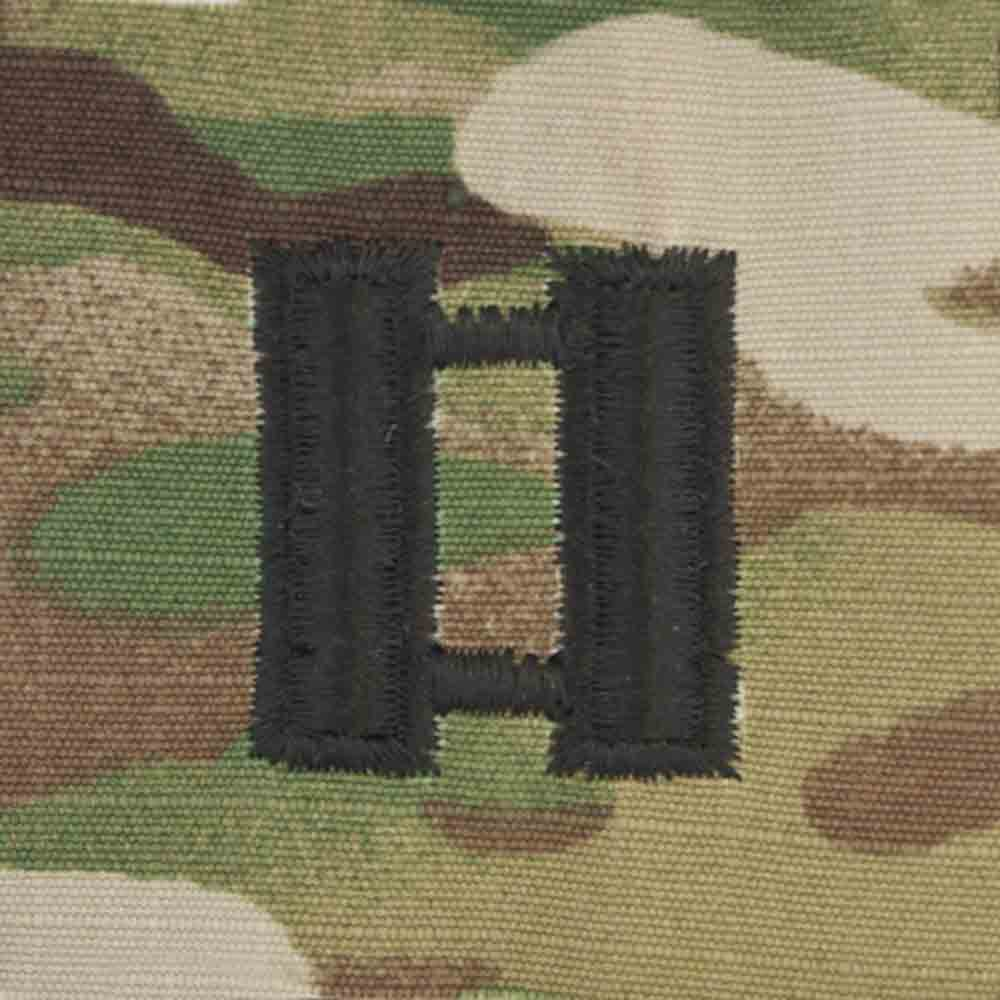 Scorpion Rank Captain With Fastener Military Patch Us Army