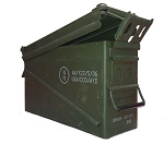 Military Surplus Saw Box Ammo Can