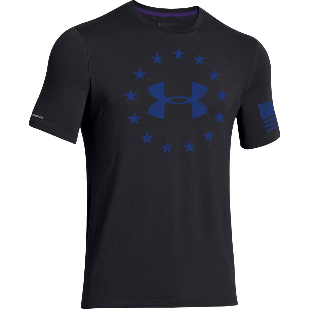Under armour freedom short sleeve men 39 s t shirt for Under armour i will shirt