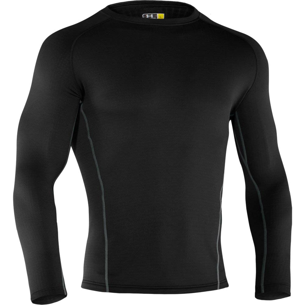 Ua base 3 0 cold gear long sleeve crew shirt 1239727 for Bulk under armour shirts