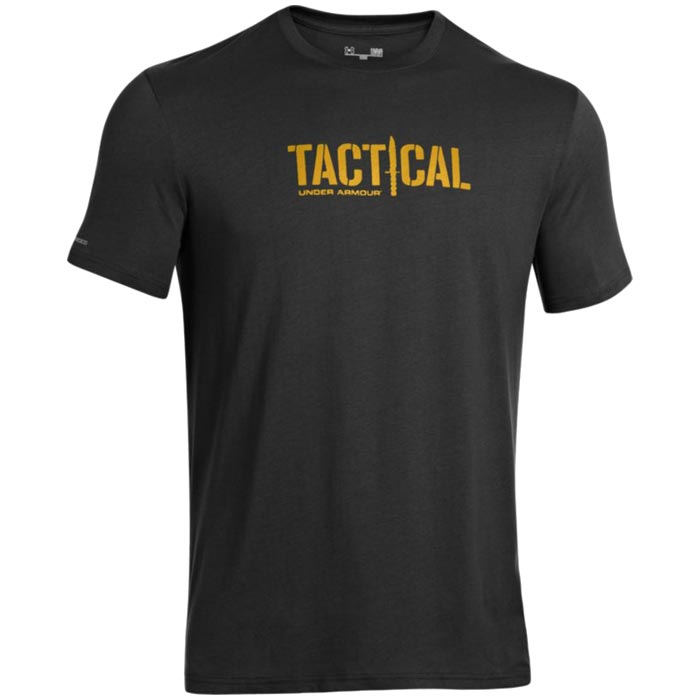 Under armour men 39 s tactical logo t shirt for Under armor tactical t shirt