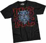 USMC Bulldog Dress Blue T-shirt from 7.62 Design