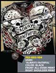 USMC 'Always Faithful' T-Shirt