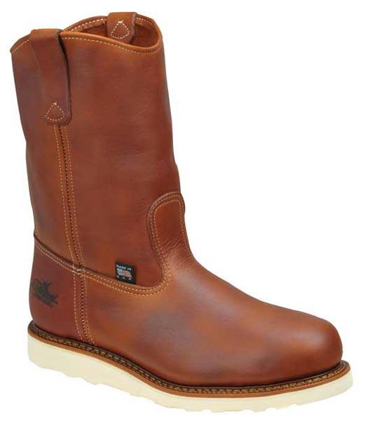 thorogood 804 4205 usa made wellington safety toe wedge