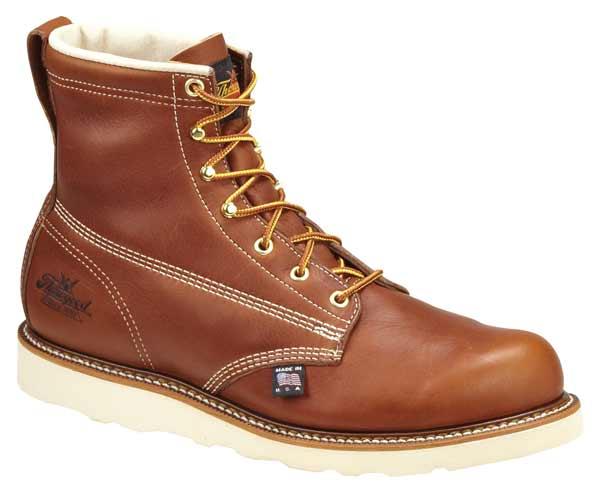 thorogood 814 4355 6 inch american made wedge sole work boots
