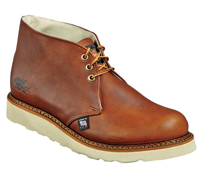 thorogood 814 4513 chukka 6 inch wedge sole work boots