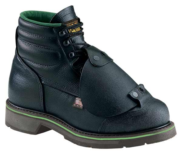 Thorogood 804 6911 6 Inch Black Leather Met Guard Safety Boot