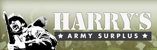 Harry's Army Surplus Logo