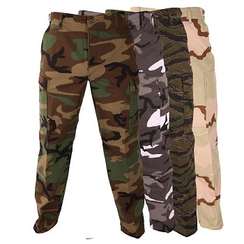 Basic Military Camouflage BDU Pant