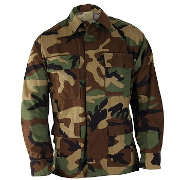Basic Military Camouflage BDU Top