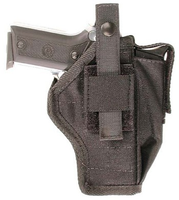 Bagmaster Belt Loop Gun Holster with MagPouch