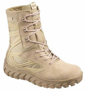 Bates 6118 Men's Desert Tan Annobon Waterproof Military Boots