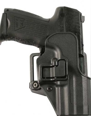 BlackHawk CQC SERPA Holster Matte Finish with Belt loop & Paddle