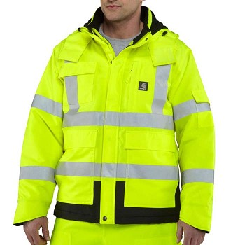 Carhartt High-Visibility Class 3 Water-Resistant Sherwood Jacket