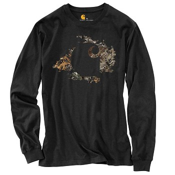 Carhartt Workwear Camo Accent Long-Sleeve T-Shirt