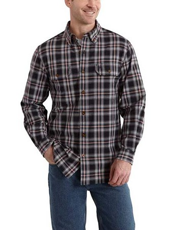 Carhartt Fort Plaid Long-Sleeve Shirt