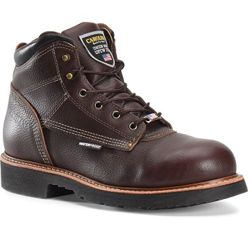 Carolina CA1815 Brown 6 Inch Composite Toe Waterproof Work Boot