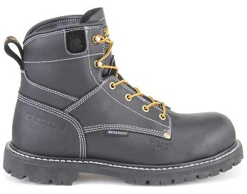Carolina  CA7530 6 Inch Black Waterproof Composite Toe Work Boots