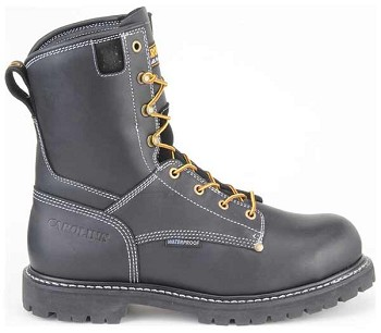 Carolina CA8030 8 Inch Black Waterproof Work Boots
