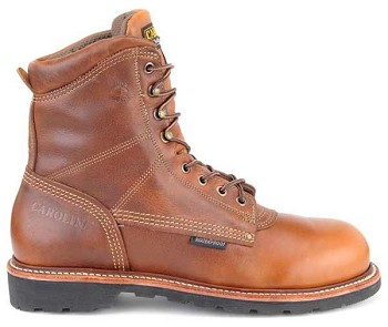 Carolina CA818 8 Inch Waterproof American Made Work Boots