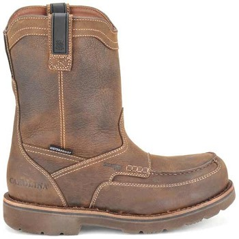 Carolina CA8534 10 Inch Aluminum Moc Toe Waterproof Wellington Boots