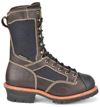 Carolina FR1502 10 Inch Flame Resistant Waterproof Logger Boots
