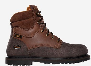Lacrosse Extreme Tough Lace-Up Plain Toe Work Boots