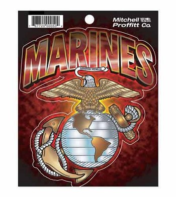 United States Marine Corps Digital Vehicle Window Decal
