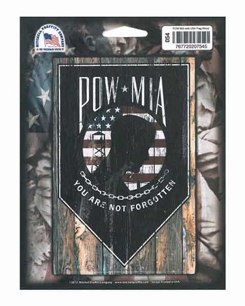 POW MIA Digital Vehicle Window Decal