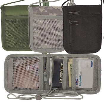 Passport Neck Wallet