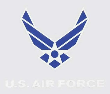 New Air Force Wing Logo Sticker