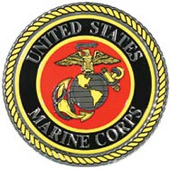 USMC Globe and Anchor Foil Sticker