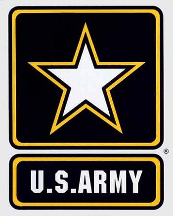 US Army Star Sticker