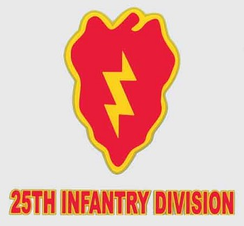 25th Infantry Division Sticker