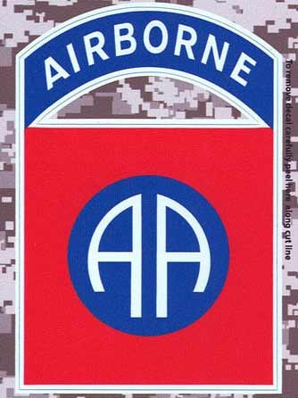82nd Airborne Digital Camo Decal