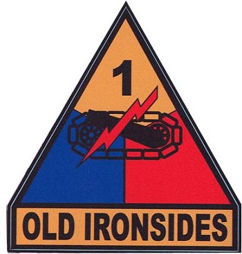 1st Armored Division Digital Camo Decal