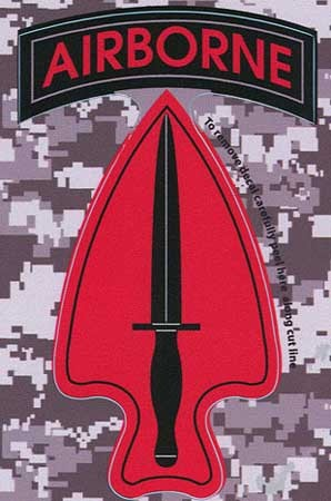 Special Ops Command Digital Camo Decal