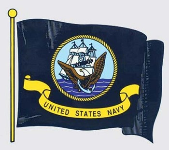 United States Navy Flag Decal