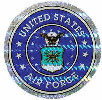 Air Force Logo Decal Foil Sticker