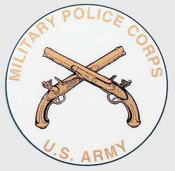 US Army Military Police Corps Sticker