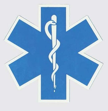 EMS Star of Life Decal