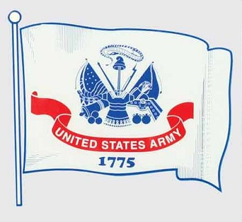 US Army Flag Sticker