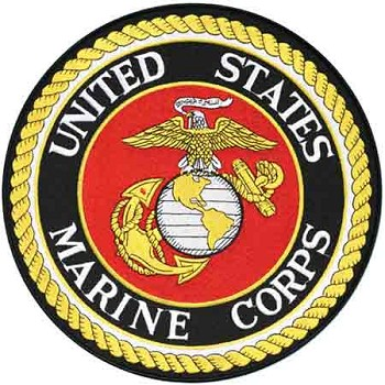 Large United States Marine Corps Emblem Patch