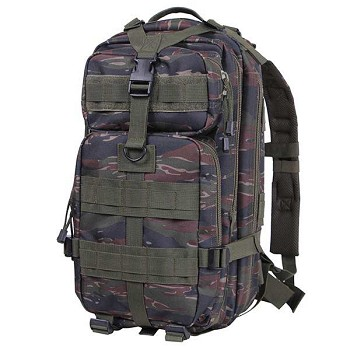 Tiger Stripe Camo Medium Transport Military Backpack