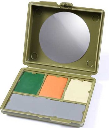 4 Color Multicam Camouflage Face Paint