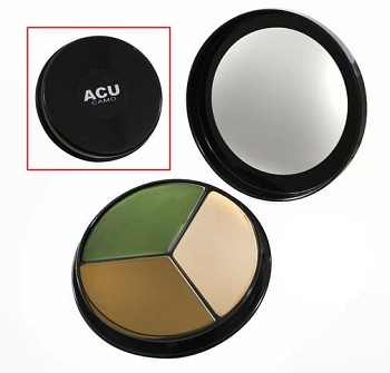 3 Color ACU Camouflage Face Paint